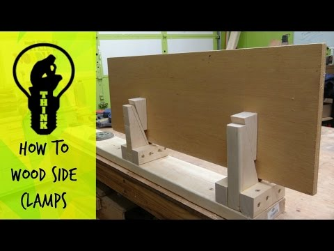 Simple to Make – Wooden aspect clamps.