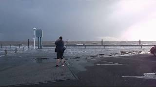 Orkan Sebastian in Wilhelmshaven