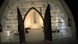 Ice Hotel Guided Tour – Hotel de Glace Quebec City Canada