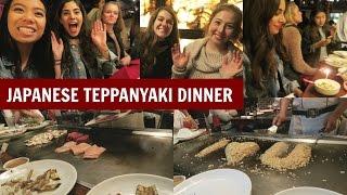 Food Adventure - Japanese Teppanyaki Dinner at Benihana!