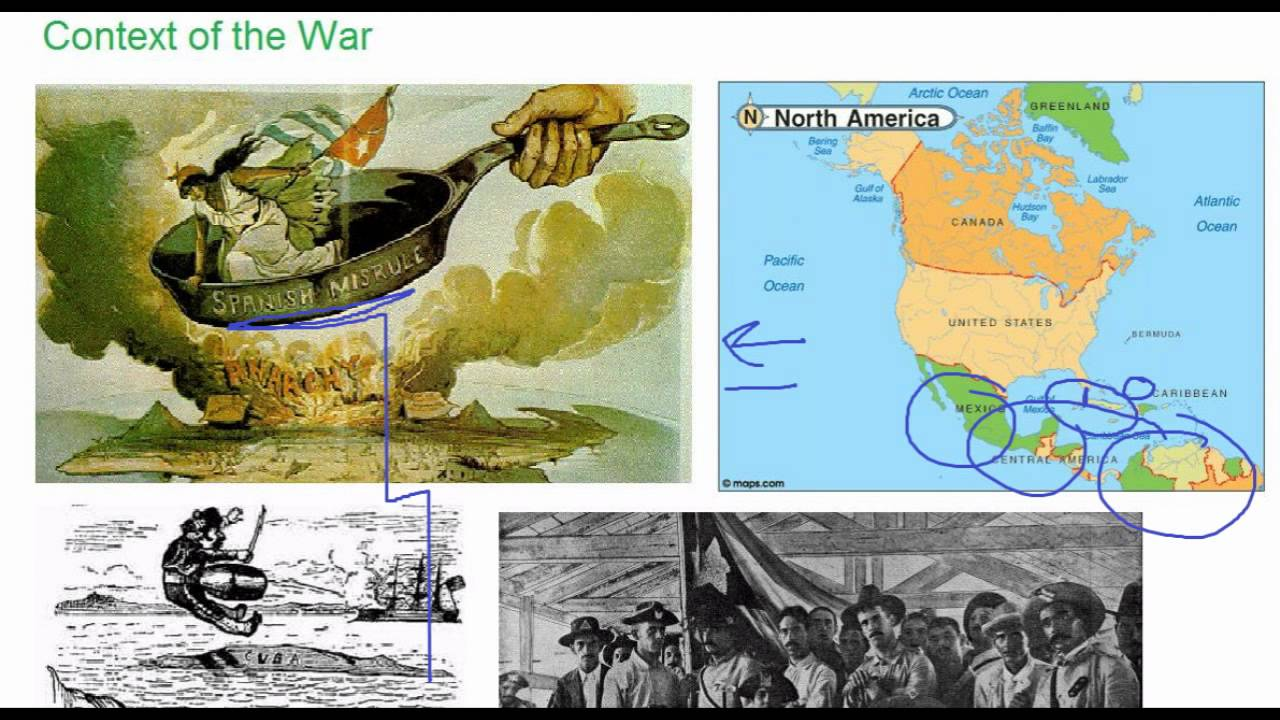 american imperialism the spanish american war The spanish-american war was a four-month conflict between spain and the united states, provoked by word of spanish colonial brutality in cuba although the war was largely brought about by the efforts of us expansionists, many americans supported the idea of freeing an oppressed people controlled by the spanish.