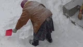 Снег, снег... Ща уберем!
