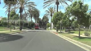 Drive in Santa Monica,SantaMonica Pier,Venice Beach