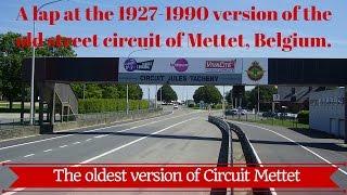 Circuit Mettet 1927-1990 version Onboard lap POV