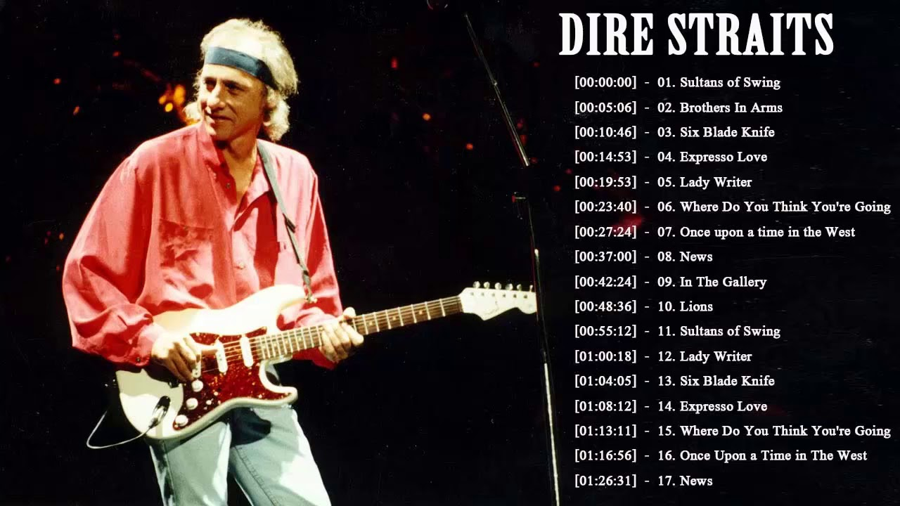 Dire Straits Greatest Hits Full Playlist 2021 The Best Songs Of Dire Straits Youtube