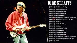 Dire Straits Greatest Hits Full Playlist 2021   The Best Songs Of Dire Straits - song lyrics sultans of swing dire straits
