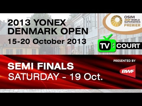 SF (TV Court) - MS - Lee Chong Wei vs Du Pengyu - 2013丹麦公开赛