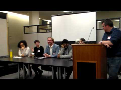 Open House part 3 at the PhD Program in English, CUNY Graduate Center, 2016