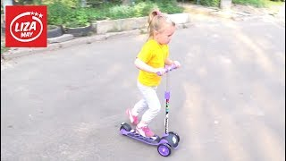 ДЕТСКИЙ САМОКАТ Scooter 3+ МОЙ ТЕСТ ДЕТСКОГО САМОКАТА