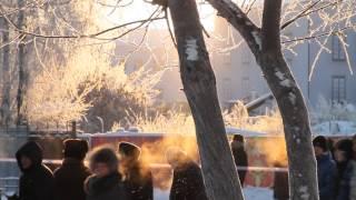 Как мы встречали олимпийский огонь в Тобольске. Троян.