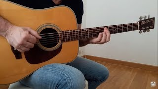 Pino Daniele - Alleria -   Acoustic Guitar Fingerstyle Cover