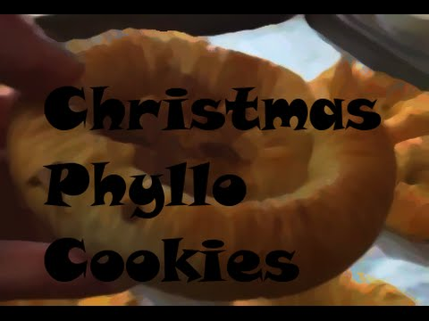 DELICIOUS Christmas Phyllo Cookies!