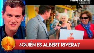 Wolfgang Maier pregunta sobre Albert Rivera en la calle - El Hormiguero 3.0