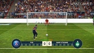 PES 2019   PSG vs SAINT ETIENNE   Penalty Shootout   Gameplay PC