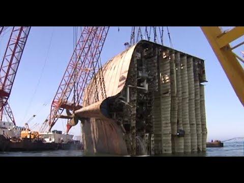 SMIT Salvage - Salvage of sunken car carrier Tricolor