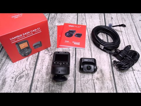Vantrue Dashcam S1 - Front And Rear Recording