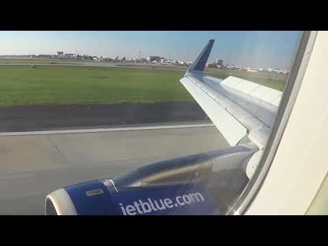 JetBlue Airbus A320 landing at Atlanta  Hartsfield Jackson International Airport)