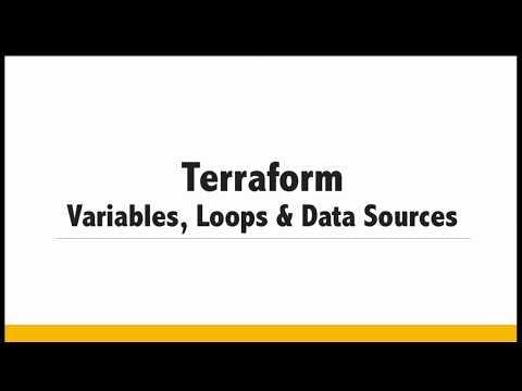 Session-2 :  AWS - Terraform variables | Data Sources | Terraform Loops