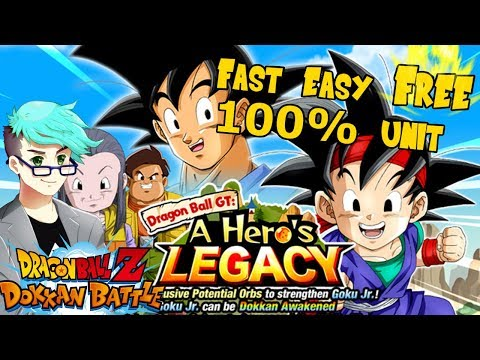 """FREE 100% GOKU JR.!!"" 