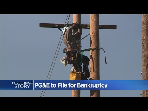 PG&E's Bankruptcy Filing Would Be One Of Biggest In US History