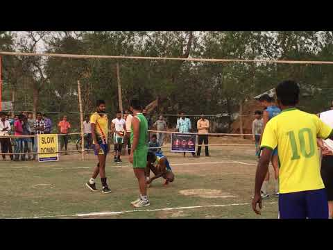 Orgram Volleyball tournament : Badreshwar bhowani Vs Sekedda club