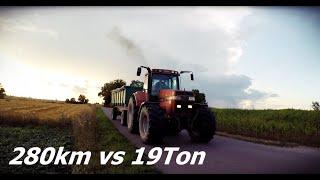 Żniwa Pszenicy 2019 ☆Fendt 280Km vs 19T☆ Ponad 7 Ton z Hektara☆ Transport zboża!!