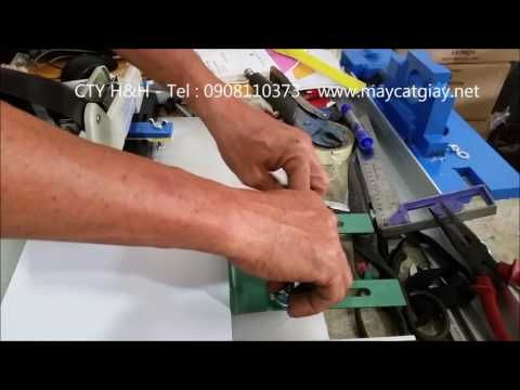 Máy bấm ghim loại lớn có chế cữ và thanh ép