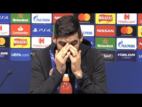 Man City 6-0 Shakhtar Donetsk - Paulo Fonseca Full Post Match Press Conference - Champions League