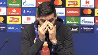 Man City 6-0 Shakhtar Donetsk - Paulo Fonseca Full Post Match Press Conference - Champions League