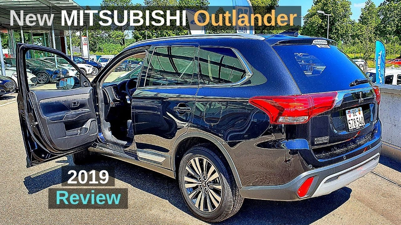New Mitsubishi Outlander 2019 Review Interior Exterior
