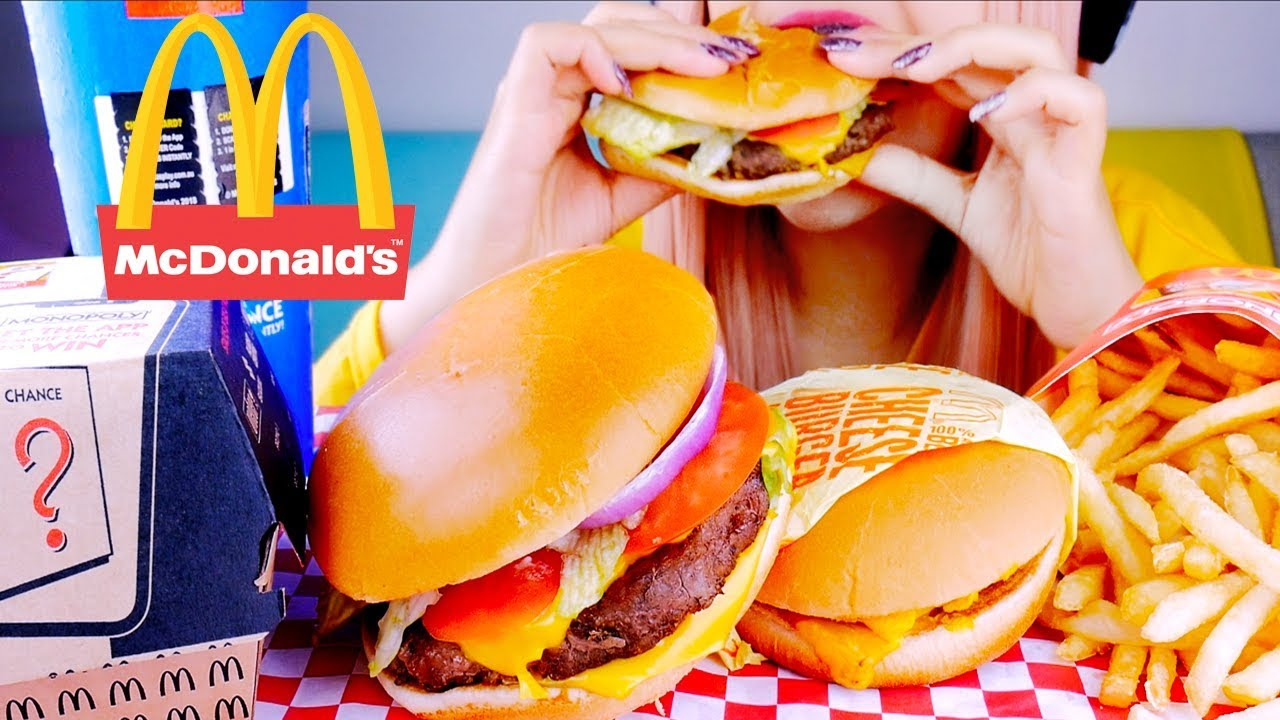 Asmr Mcdonalds Eating Sounds No Talking