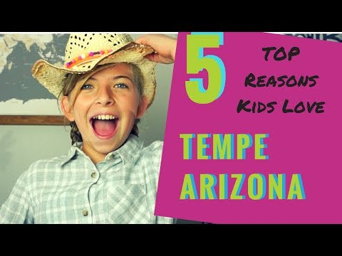 Things To Do in Tempe with Kids- #38Minutes Challenge Family Vlog