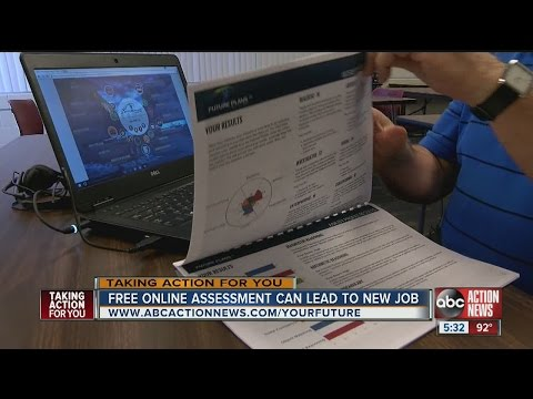 Free online assessment can lead to new job