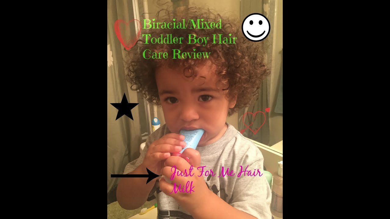 Biracial Mixed Toddler Hair Care Just For Me Hair Milk Youtube