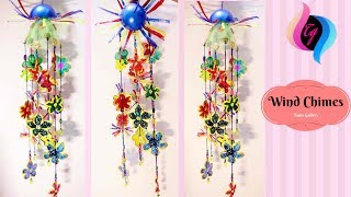 How to use plastic bottles for decoration - Making crafts with plastic bottles step by step