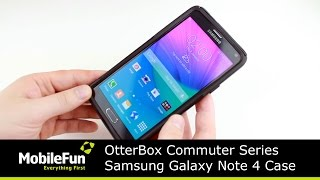 otterbox commuter series samsung galaxy note 4 case review
