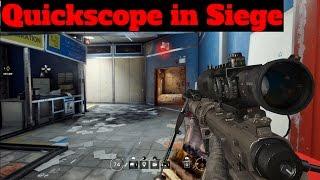 Quickscope w/Glaz - Rainbow Six Siege