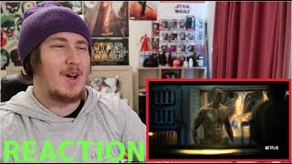 Altered Carbon Trailer REACTION!!!