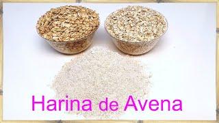 Cómo Hacer Harina de Avena - Usos y Propiedades │Club de Reposteria
