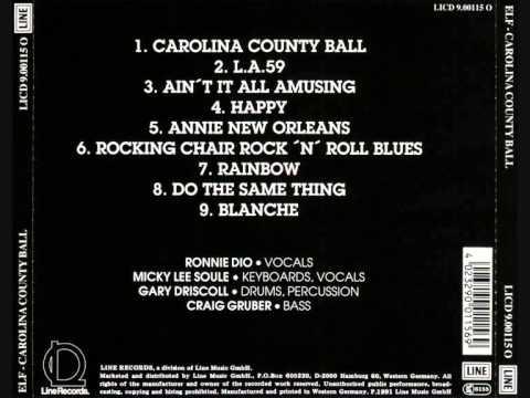 Elf - Carolina County Ball (1974) Cd Full