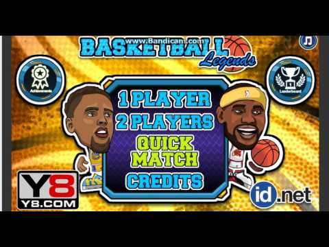 Y8 Basketball Legends Gameplay 1 Youtube