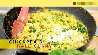 Chickpea & Kale Curry | Vegetarian Recipe | Cooking With Atul Kochhar