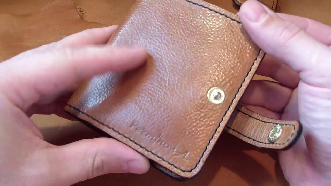 fbab0540 кошельки из мягкой кожи - YouTube