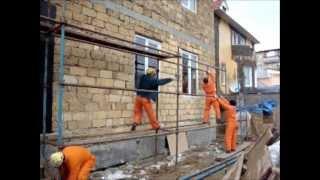 Утепление стен,фасадов,пенопластом,декоративная штукатурка короед(Утепление стен,фасадов,пенопластом, декоративная штукатурка короед., 2014-02-05T08:54:16.000Z)