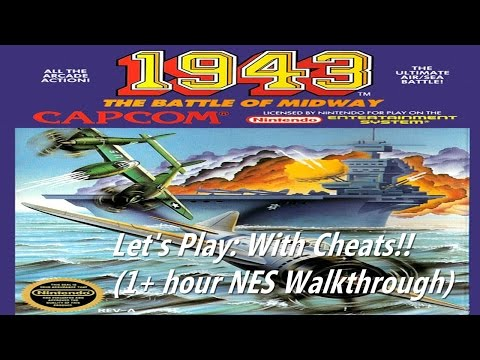 Let's Play: 1943: The Battle Of Midway  (With Cheats)