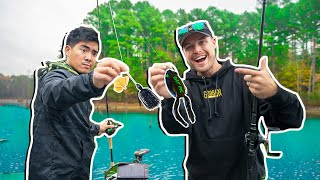 Frog Vs Buzzbait - Top Water Fishing Challenge