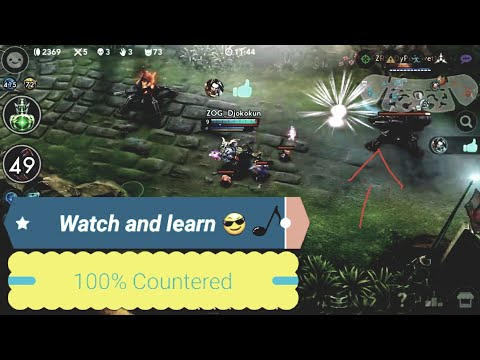 Vainglory - How To Counter Saw On Lane