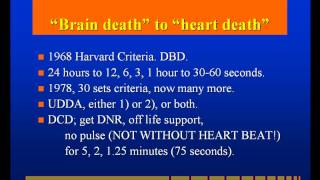 Brain Death and Organ Transplantation