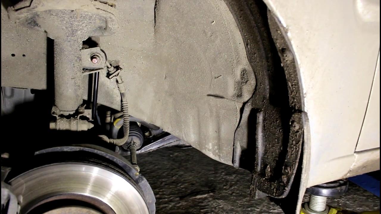 Замена штока ручного тормоза киа рио 2010 Переборка акпп qx 80