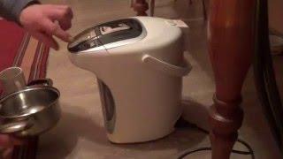 Ремонт термопота (устранение течи)